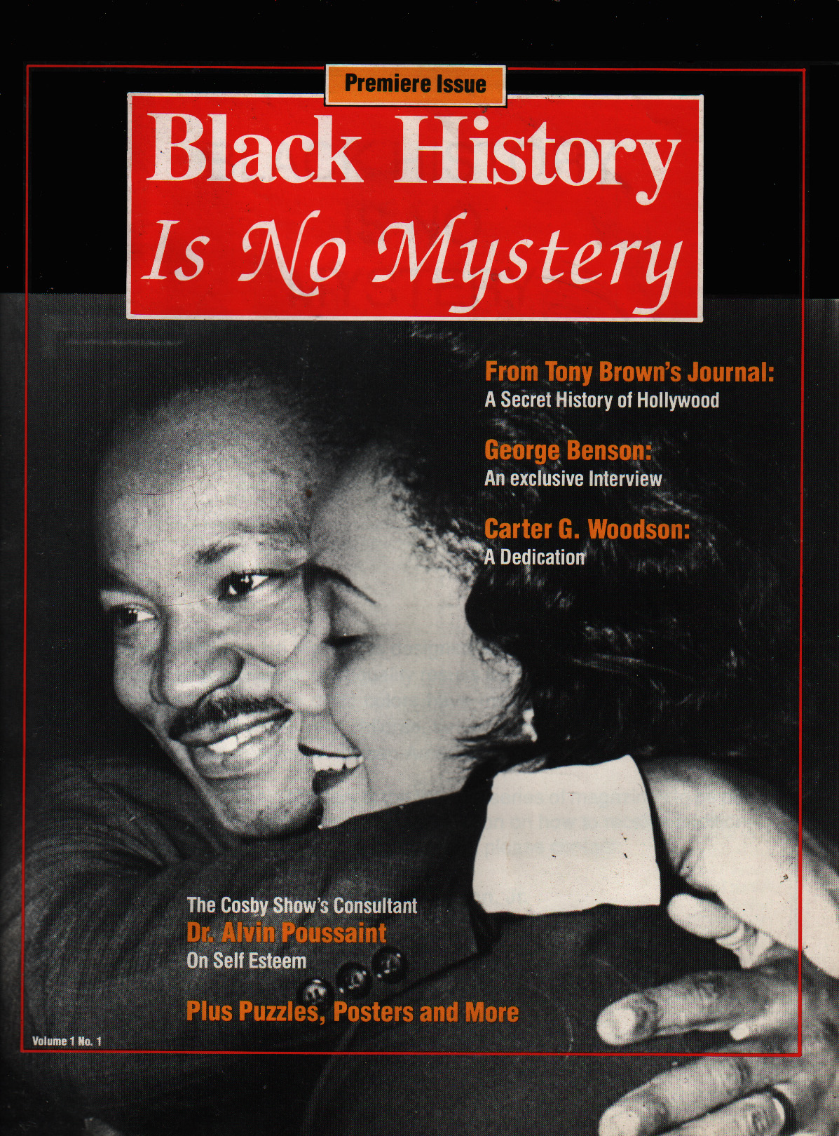 1 Black History Magazine King Cover 1