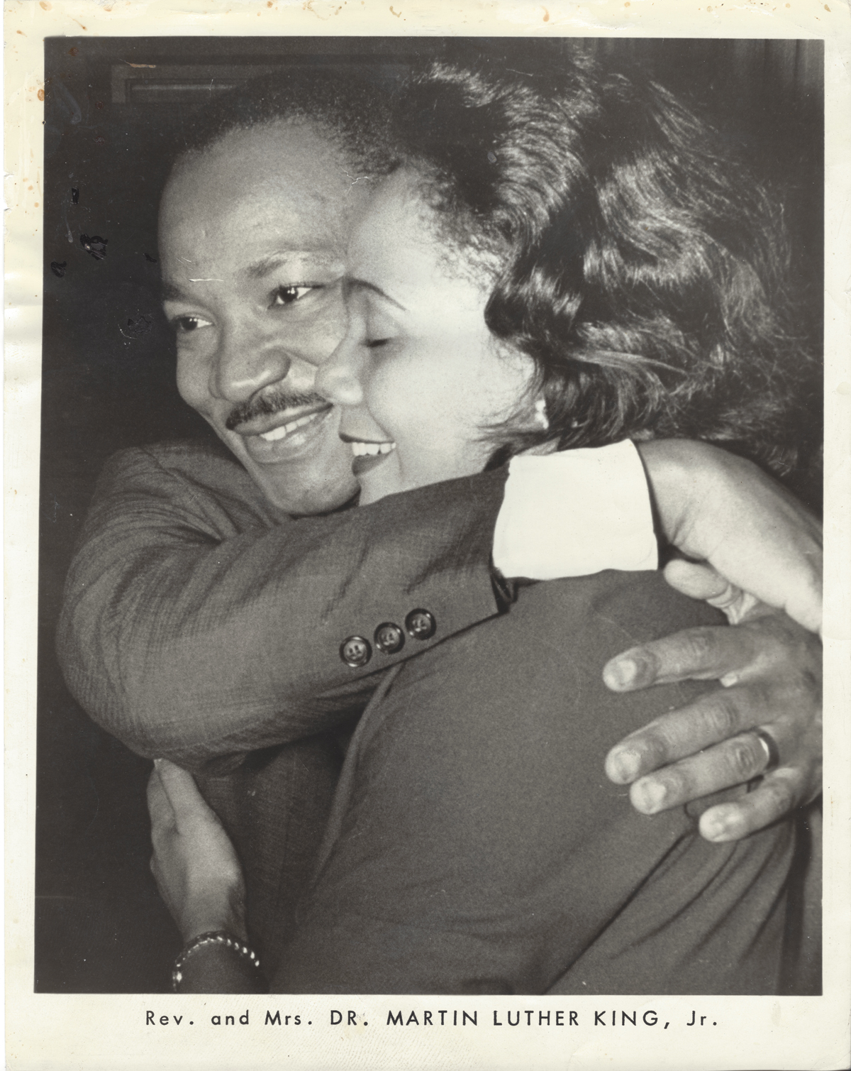 Dr King and Wife 1