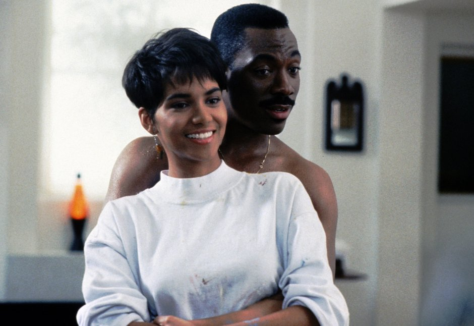 Halle Berry and Eddie Murphy